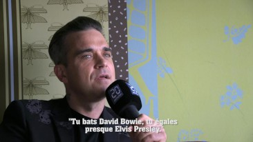 Interview de Robbie Williams